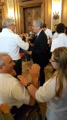Il grande sostenitore delle attività dell'hbari2003_Presidente della fondazione Puglia_Prof. Antonio Castorani